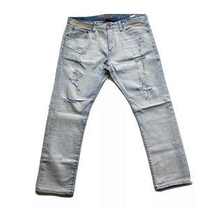 American Eagle Core Flex Distressed Slim Jeans